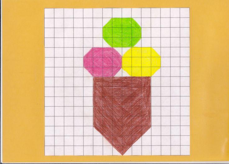 mozaiekplank ijsje