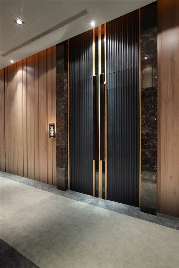 1000 ideas about modern door design on pinterest modern door modern front door and house - Kleur corridor ...