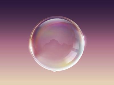 Seifenblase Icon / kajdax