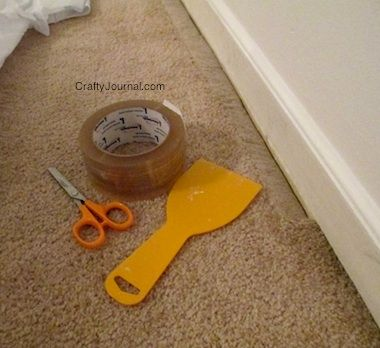 Easy, No Mess Way to Paint Baseboards - Crafty Journal …