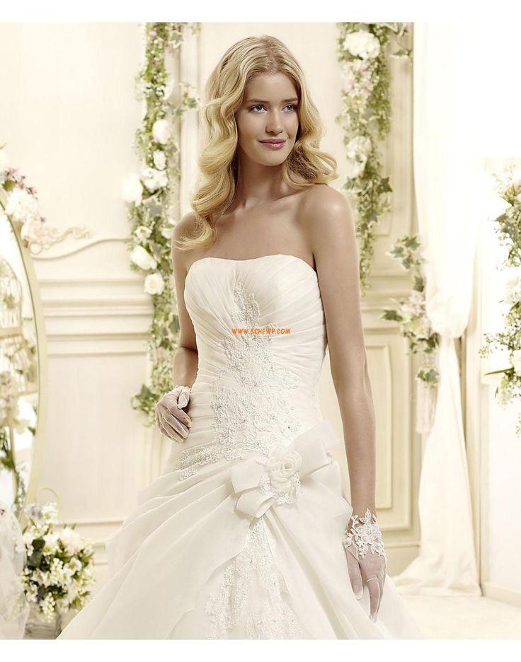 Bez ramínek Okouzlijící & dramatický Bez rukávů Korzetové svatební šaty