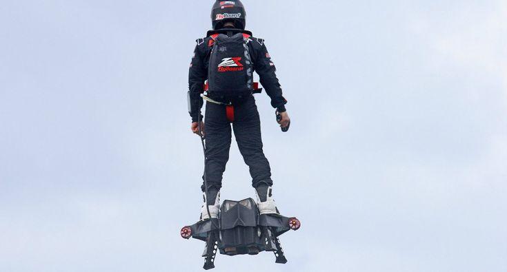 Flyboard Air a Prancha Que Faz Voar a Uma Incrível Velocidade De 150 Km/h