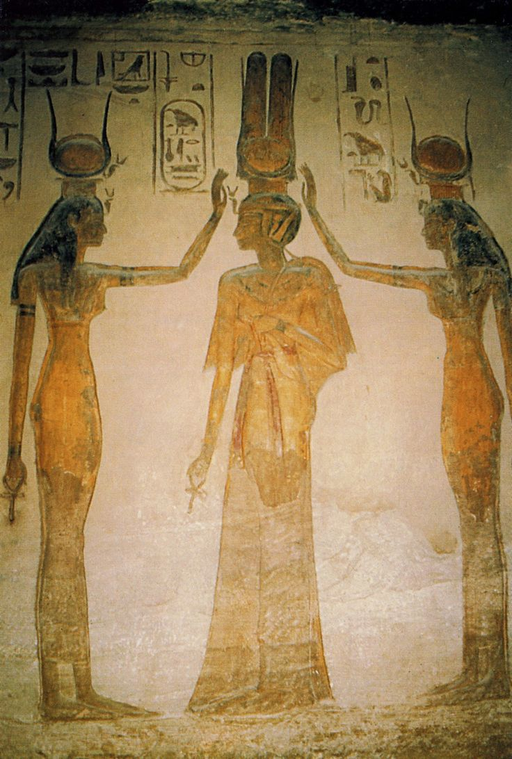 Hathor and Nefertari