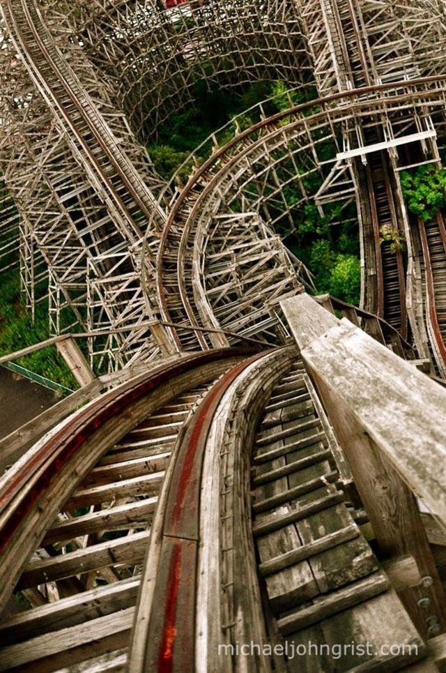 Parque de Atracciones Abandonado en Japón.