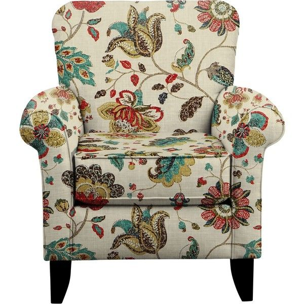 Tracy Chair w/ Spring Mix Poppy Fabric (23.600 RUB) ❤ liked on Polyvore featuring home, furniture, chairs, accent chairs, upholstery fabric furniture, upholstery chairs, rolled arm chair, upholstery fabric chair and spring furniture