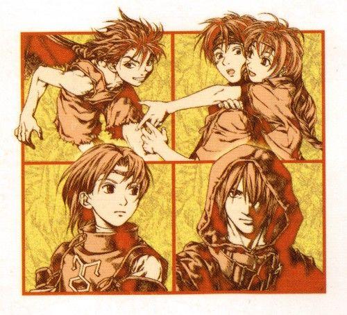 Fumi Ishikawa, Konami, Suikoden I, Tengaar, Luc