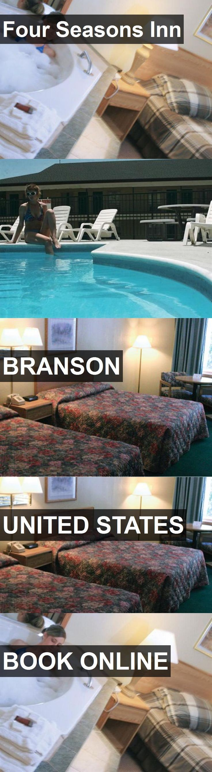 Hotel Four Seasons Inn in Branson, United States. For more information, photos, reviews and best prices please follow the link. #UnitedStates #Branson #travel #vacation #hotel