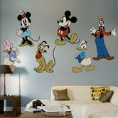 Found it at Wayfair - Classic Mickey Mouse & Friends Wall Decal