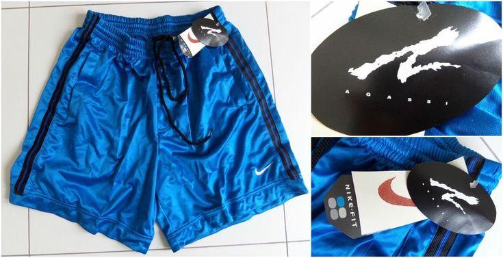 Vintage 90s NIKE X ANDRE AGASSI Tennis Shorts Retro OG DS 80's Men's BNWT RARE #Nike