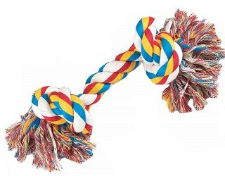 2-Knot Tug-O-War Rope Dog Toy