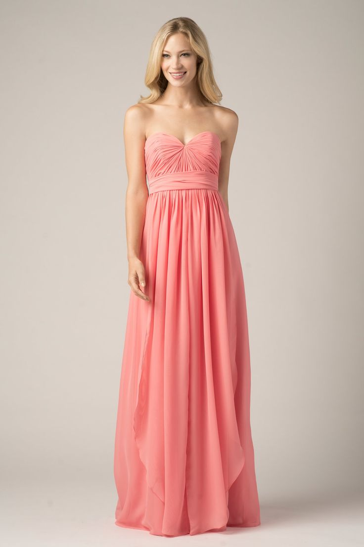 Mejores 15 imágenes de Coral Bridesmaid Dress en Pinterest ...