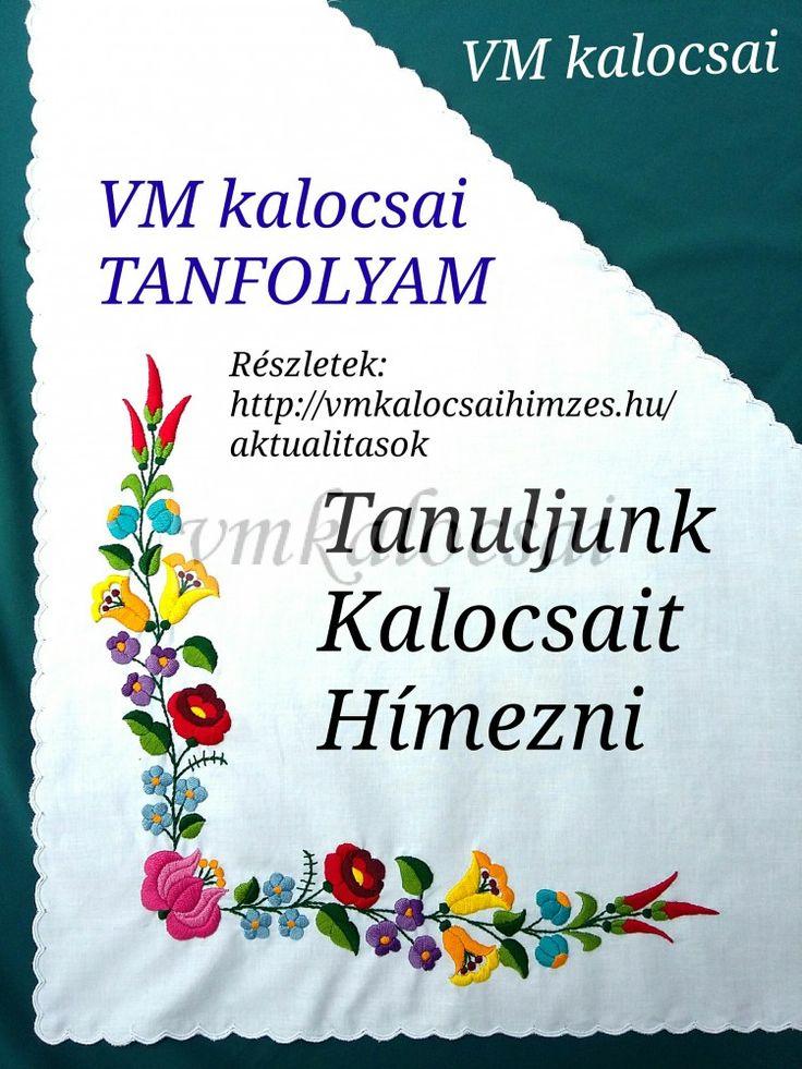 Kalocsai Hímzés Tanfolyam - aug.25.