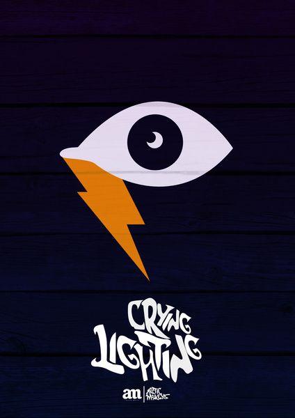 Crying Lightning - Arctic Monkeys Artwork