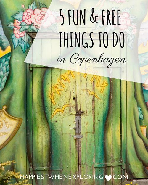 5 Fun & Free Things to do in Copenhagen // at happiestwhenexploring.com