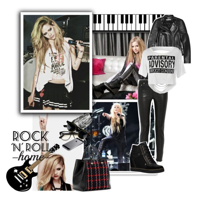 """Avril Lavingne Inspired - Fall Outfit"" by fashionengineer ❤ liked on Polyvore featuring BLK DNM, Victoria Beckham, Givenchy, Wildfox, GUESS, ALDO, music and fall2014"