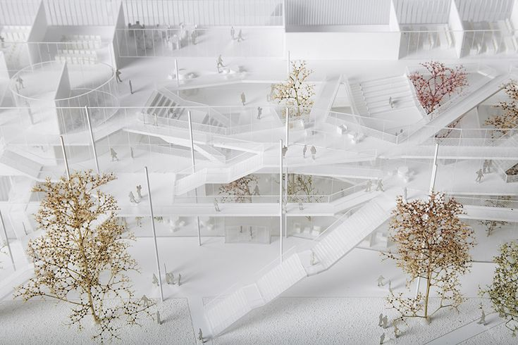 Learning center for Polytechnique school in Paris-Saclay / Sou Fujimoto Architects, Manal Rachdi OXO Architectes , Nicolas Laisné Associés - 谷德设计网