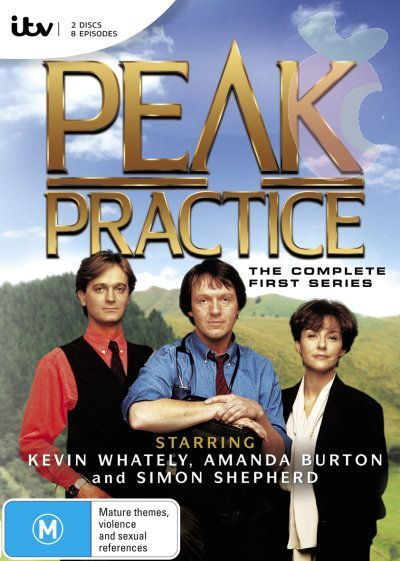 Peak Practice, first series, starring Kevin Whately, Amanda Burton and Simon Shepherd