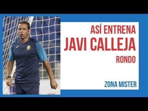 ⚽️ ASI ENTRENA JAVI CALLEJA (Rondo 8c3 en 2 subpesacios) | Ejercicios futbol - YouTube