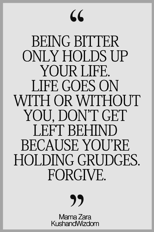 People Grudges Who Quotes Hold