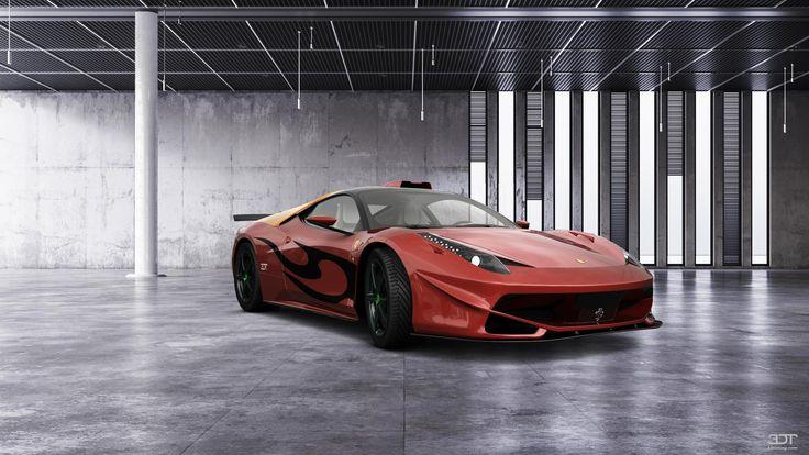 Checkout my tuning #Ferrari 458Italia 2010 at 3DTuning #3dtuning #tuning