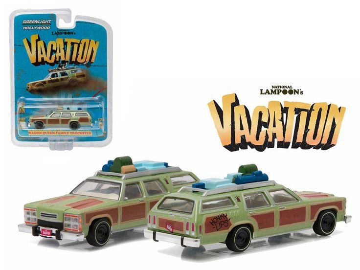 1979 Family Truckster Wagon Queen Honky Lips Nation Lampoon Vacation 1/64 #Greenlight #FamilyTruckster