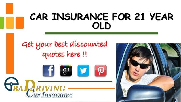 7 best cheap car insurance for 21 year images on