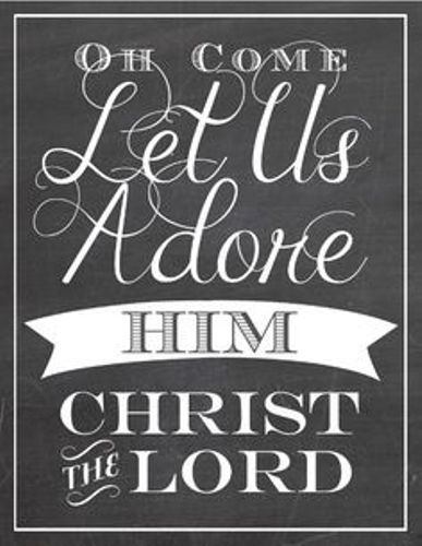 Merry Christmas greetings 2016 for friends,family on Facebook,whatsapp,Pinterest and Instagram.The quotation..oh come!! let us adore him. The lord Christ. #MerryChristmasQuotes