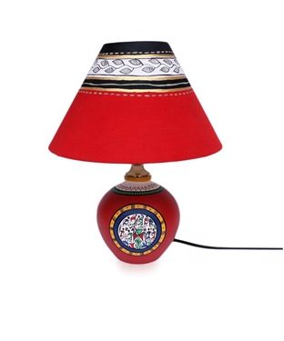 46 best light it up images on pinterest beige taupe and base colour red and multi material base terracotta shade made up of cloth mozeypictures Choice Image