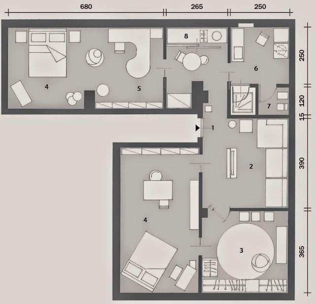 APARTAMENTO 96 m² (QUASE) TOTALMENTE MASCULINO, MAS TAMBÉM DELICADO E CRIATIVO