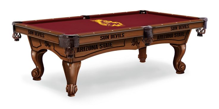 Arizona State Sun Devils Pool Table 8'