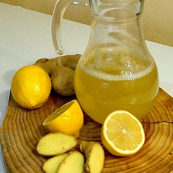 Полезный лимонад #имбирь #лимон #мед #структурированнаявода #СЕ