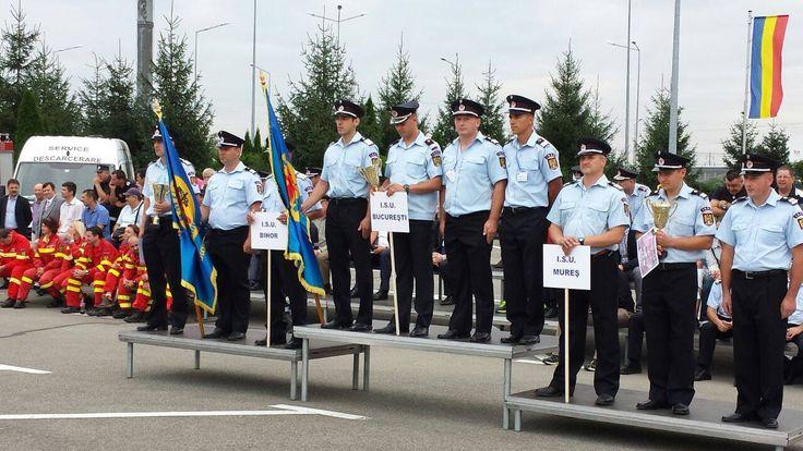 Competiţia Naţională de Descarcerare şi de Acordare a Primului Ajutor Calificat,  03 -05.09.2014, Oradea