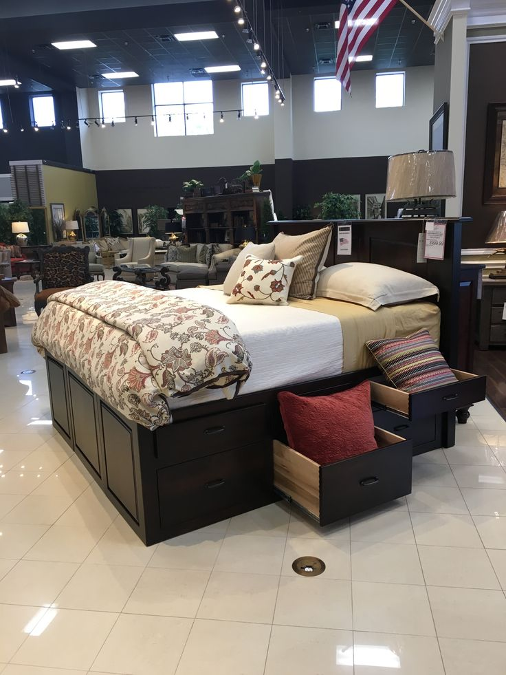 from Gallery Furniture · Heirloom quality construction and materials allow  this bed to last for generations. Welcome this solid