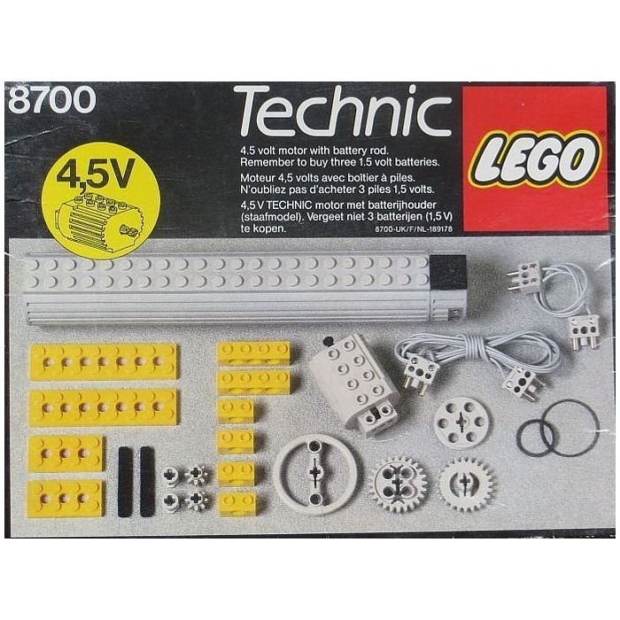 lego technic motor set 8700 the look of classic lego. Black Bedroom Furniture Sets. Home Design Ideas