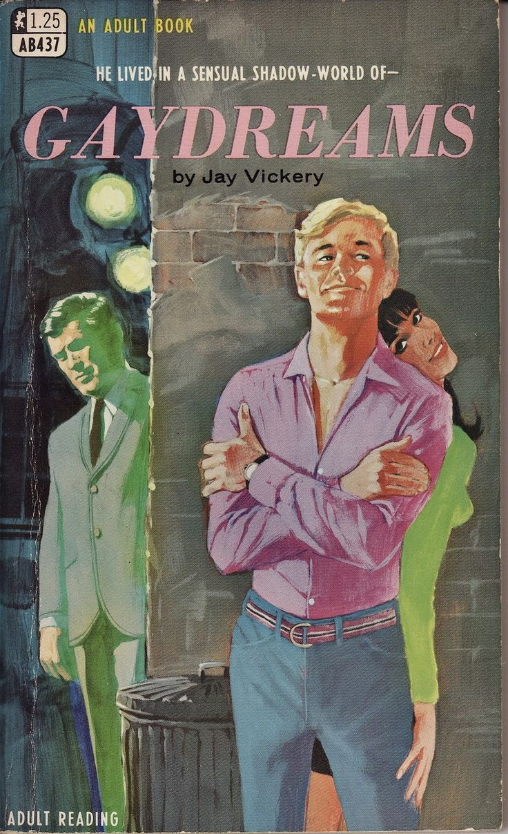 gay pulp fiction paperback