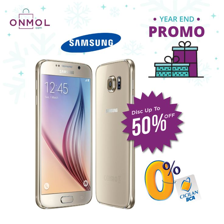 Tahun Baru, Semangat Baru, Gadget Baru! Dapatkan penawaran spesial dengan Diskon Hingga 50% setiap pembelian Smartphone & Gadget Samsung di OnMol.com. Buruan, cek info lengkapnya disini! #OnMolID #onlineshop #YearEndPromo #gadget