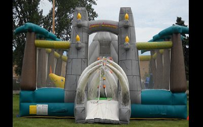 Jurassic Adventure Inflatable Rentals! A fun inflatable for all indoor or outdoor events!