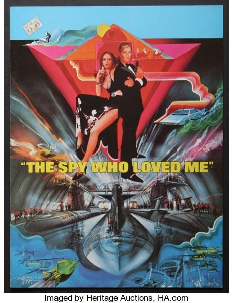 "Movie Posters:James Bond, The Spy Who Loved Me (United Artists, 1977). Program (9"" X 12"", 20Pages). James Bond. Starring Roger Moore, Barbara Bach, C..."