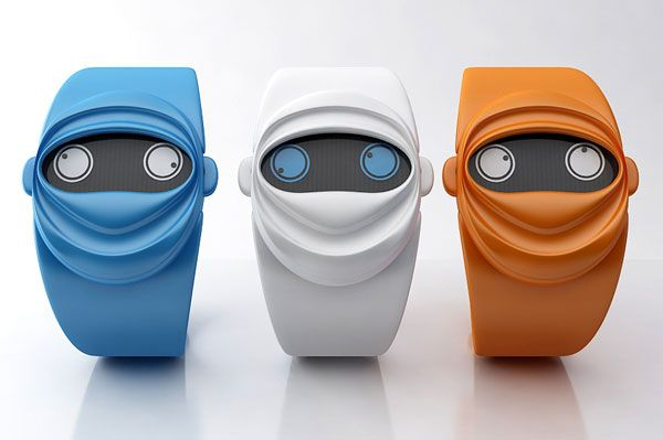 Ninja Time: If You Simply Want To Disguise Time Itself (wish they came in neon...)