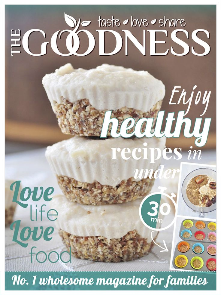 The Goodness Magazine Cover