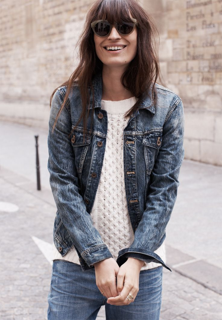 49 best DENIM JACKET images on Pinterest | Denim jackets, Denim ...
