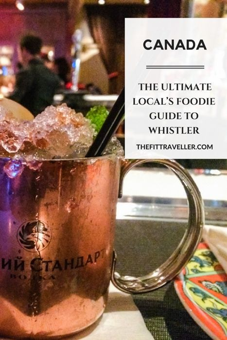 CANADA: The Ultimate Local's Foodie Guide to Whistler. From apres to fine dining and the latest local hipster hangouts, we cover it all in this ultimate guide to Whistler Village, Canada to satisfy every traveller's tastebuds.