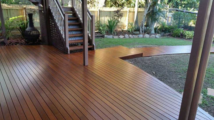 Timber deck with a walkway leading to a pool built in Ashgrove. One of our most recently completed projects #deck #timberdeck #walkway #DeKing Decking Calculator http://www.dekingdecks.com.au/decking-calculator/