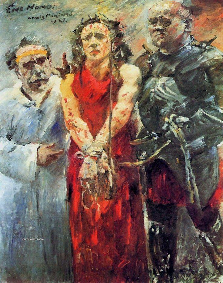 Lovis Corinth 1929 Ecce Homo
