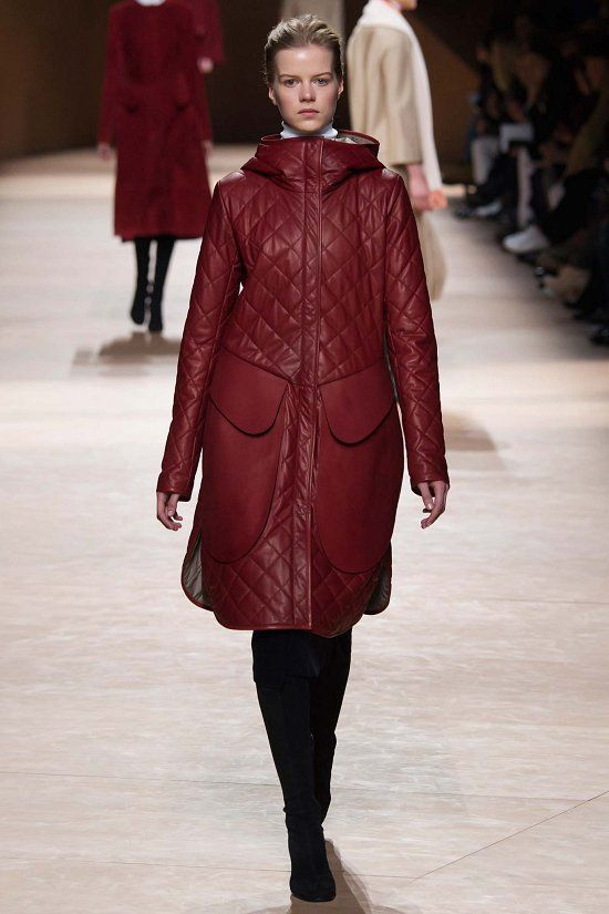 Hermès fall-winter 2015-2016 #PFW #fashionwomancom #fashion #moda