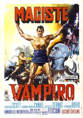 CineMaestri: Maciste contro il vampiro #maciste #gordonscott #peplum #vampiro #giannamariacanale