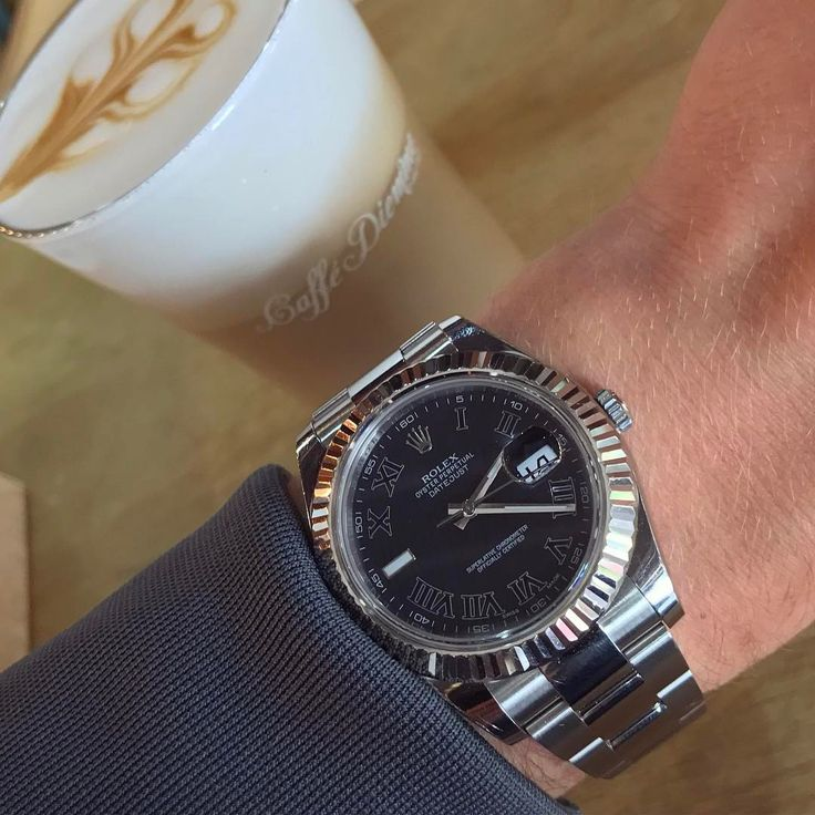 """168 Likes, 3 Comments - ⌚️ THE KETTLE KIDS ⌚️ (@the_kettle_kids) on Instagram: """"Monday morning ☕️ •Rolex Datejust II #116334 mint condition complete with 📦&📃...£5400 **Cheapest…"""""""
