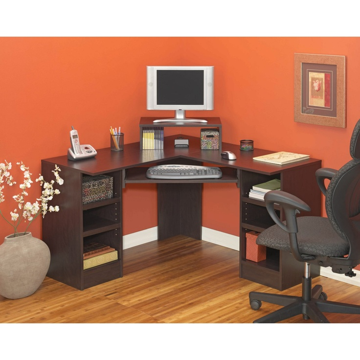 stylish home office computer room. homestyles corner computer desk add a stylish and functional addition to any workspace with the this features rich home office room
