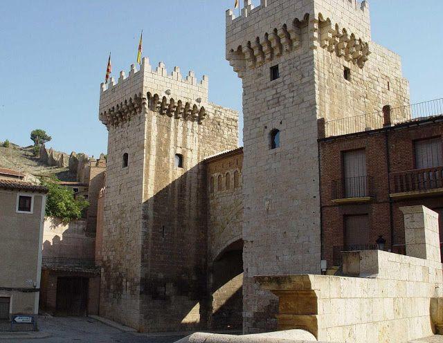 Castelo de Daroca. Castela, Espanha.