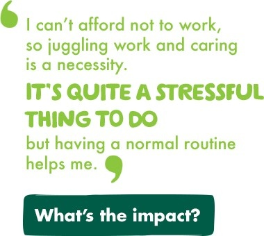 Splitting your time between being a carer and working can be challenging. There are ways your employer can help...